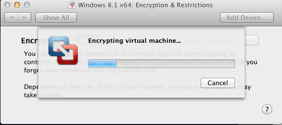 Fortunately, this feature isn't just for Windows VMs. It worked with my Fedora VM as well.