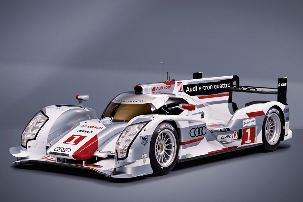 The Audi R18 e-tron quattro.