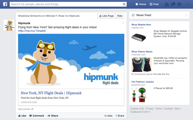Caress this chipmunk's cheeks with your pointer? Facebook wants to know about it.