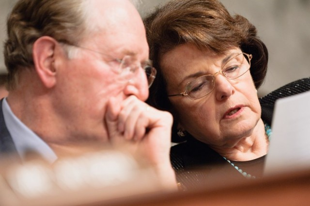 Sen. Feinstein chairs the Senate Intelligence Committee.