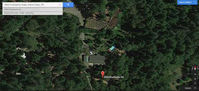 We're looking at a pot farm. Supposedly.