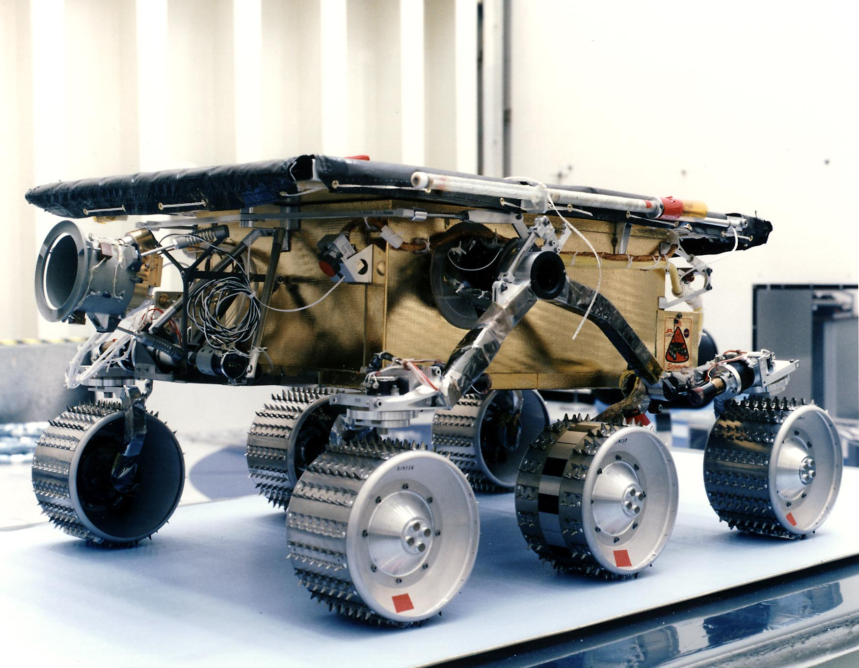 Sojourner, the little rover that could, built by iRobot for NASA's Pathfinder mission to Mars.