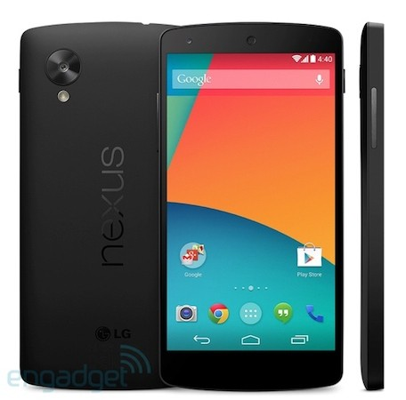 Nexus 5 leaked on Google Play: $349 for 16GB