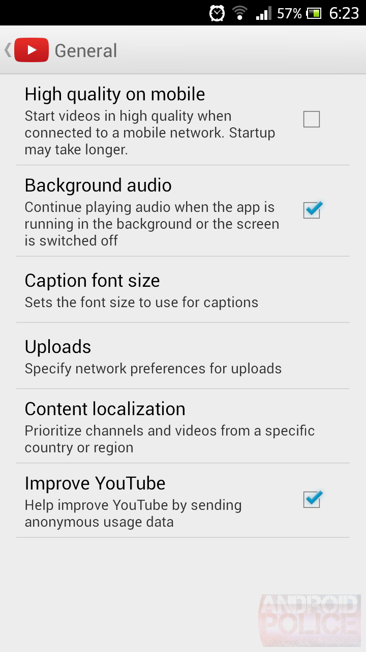YouTube for Android will soon work as a background music