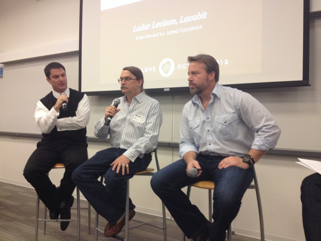 Ladar Levison (left), is the founder of Lavabit. Jon Callas and Mike Janke (right) are the co-founders of Silent Circle.