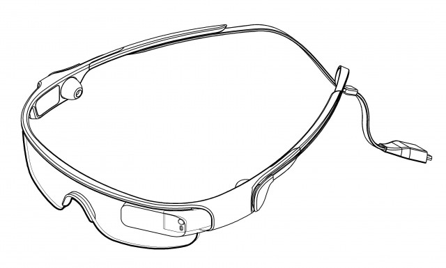 20154bb5ad6 Samsung Spectacles  Google Glass competitor spotted in design patent ...