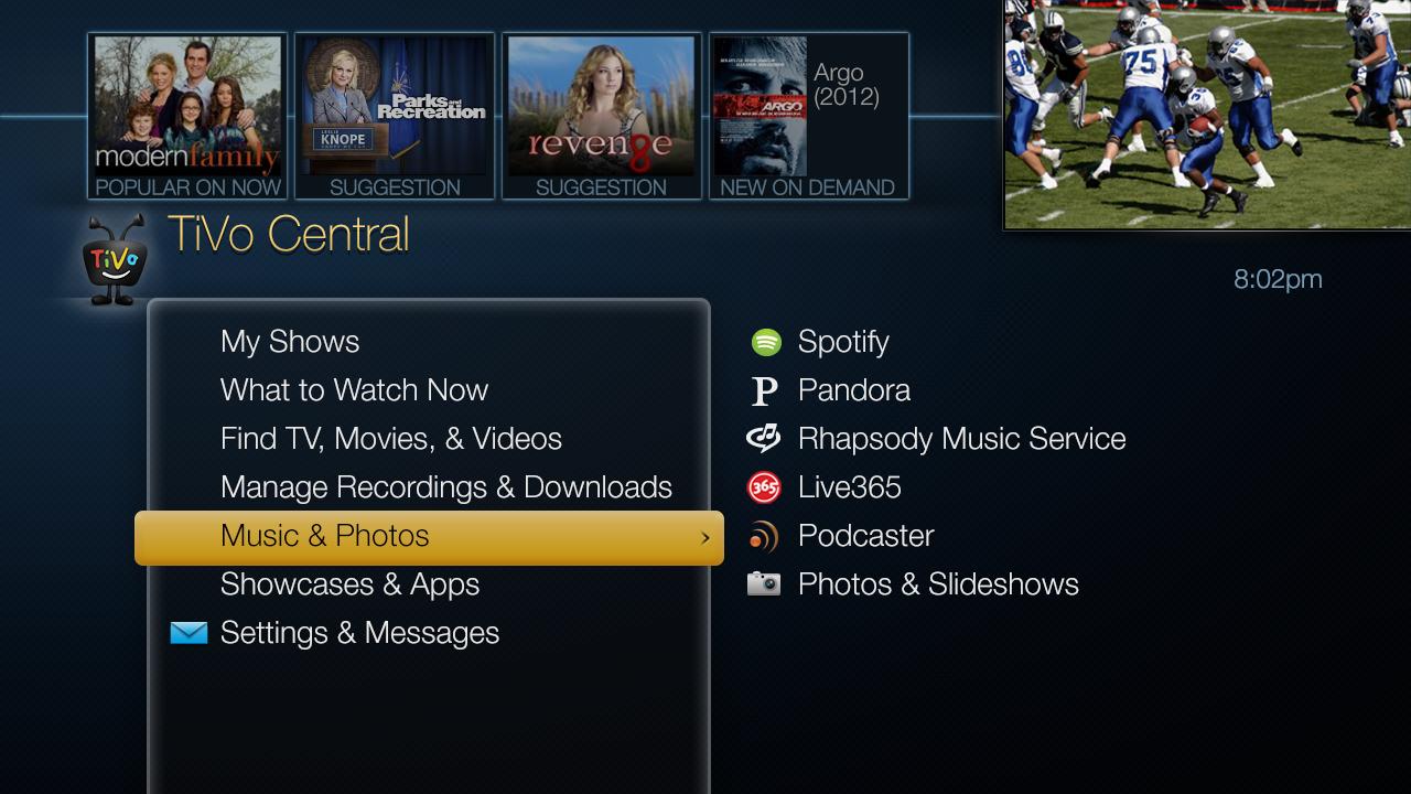 TiVo Central.