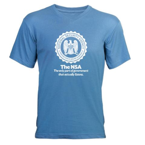 Man sues DHS, NSA for the right to parody them on mugs, T-shirts