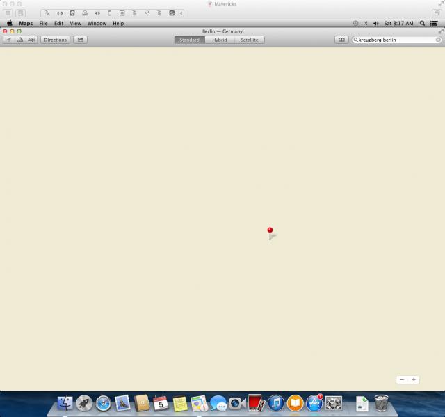 VMware Fusion. Obligatory Apple maps  wisecrack here.