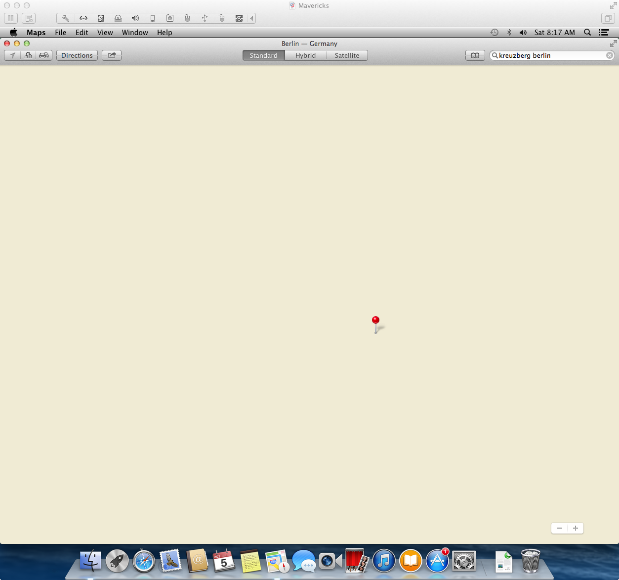 VMware Fusion. Obligatory Apple maps joke here.