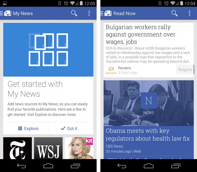 Google launches Play Newsstand: A hybrid magazine store and RSS reader