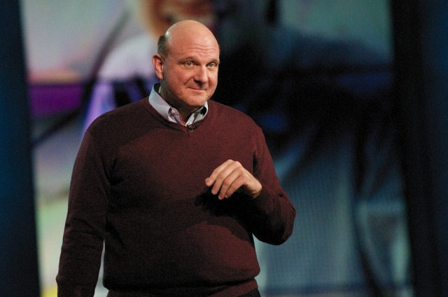 Steve Ballmer is a 30-year veteran of Microsoft and became CEO in 2000.