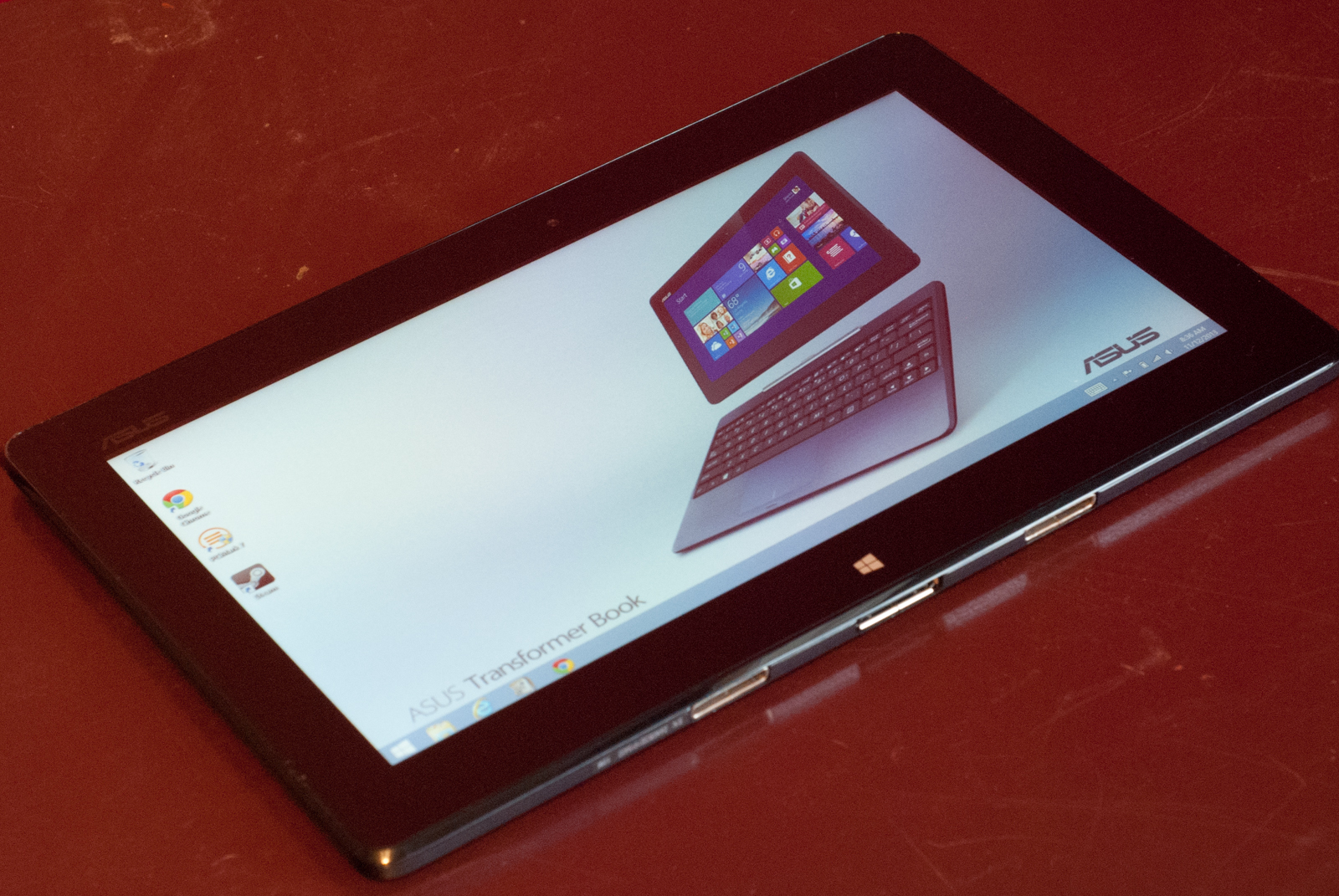 Asus transformer book t100 review bringing the netbook back almost ars technica - Asus transformer t100 ports ...