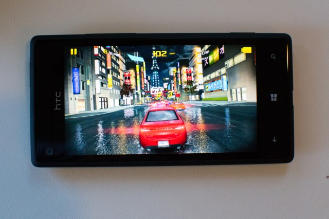 Even on modest hardware, gaming on Windows Phone can look good.