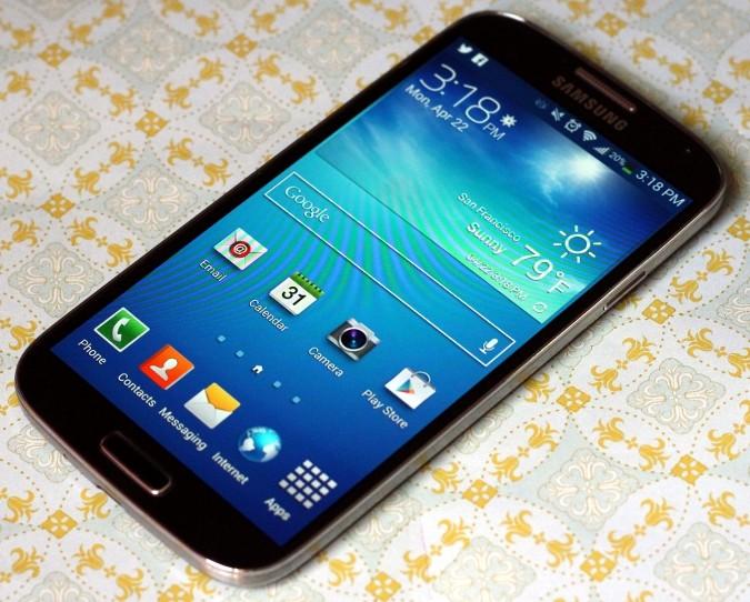 Samsung's Galaxy S 4.