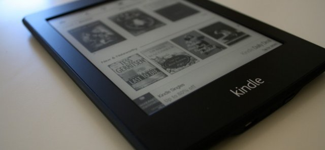 The original Kindle Paperwhite.