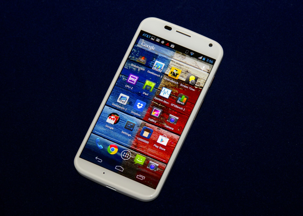 The Moto X is a well-balanced, clean, approachable, Android handset.