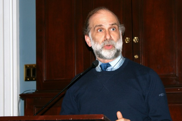 Bruce Schneier, at an Open Technology Institute presentation on Capitol Hill last Friday, said the NSA had created vulnerabilities in the Internet that criminals could exploit within the next two to three years.