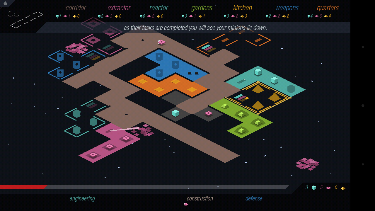 Strategy game <em>rymdkapsel</em> is as challenging as it is simple looking.