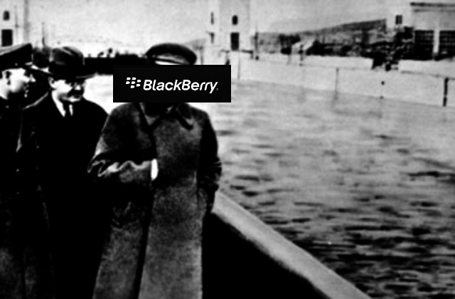 BlackBerry is missing a few more commissars from the corporate website.