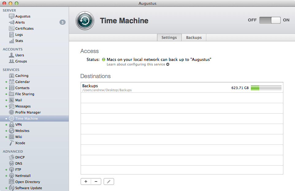 Time Machine has gotten some nice upgrades in Mavericks.