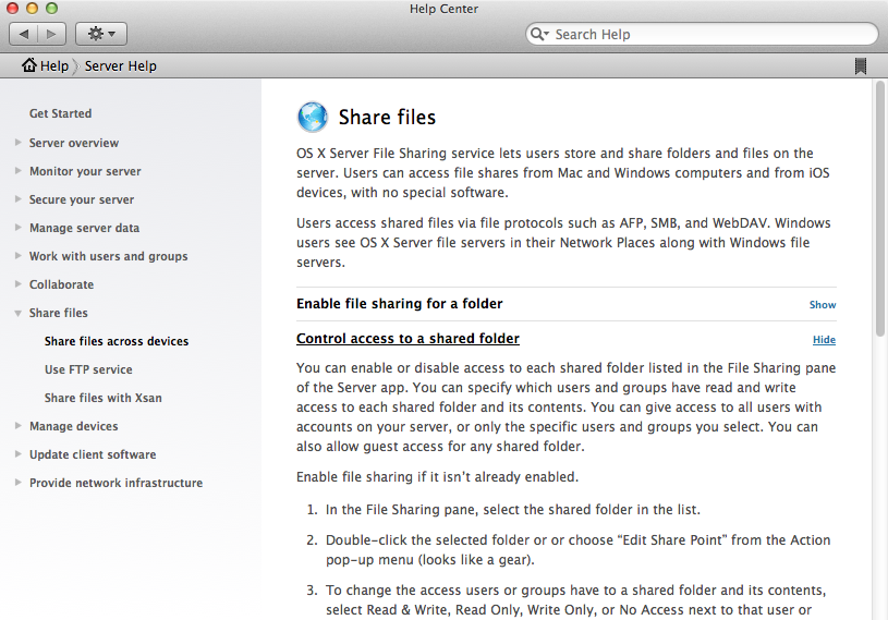 The older, more exhaustive Help files are still available, as is Apple's extensive online documentation.