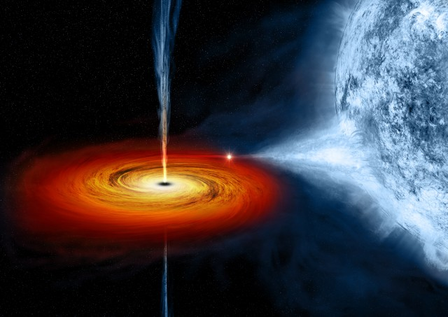 Black hole caught blasting heavy metal in jets