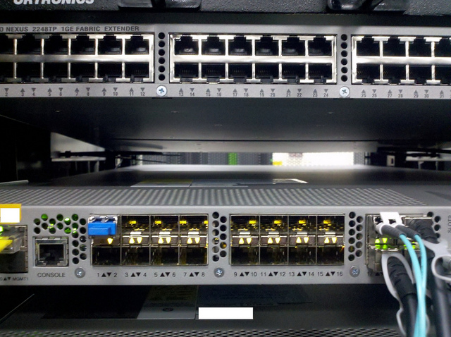 Cisco Nexus switches.