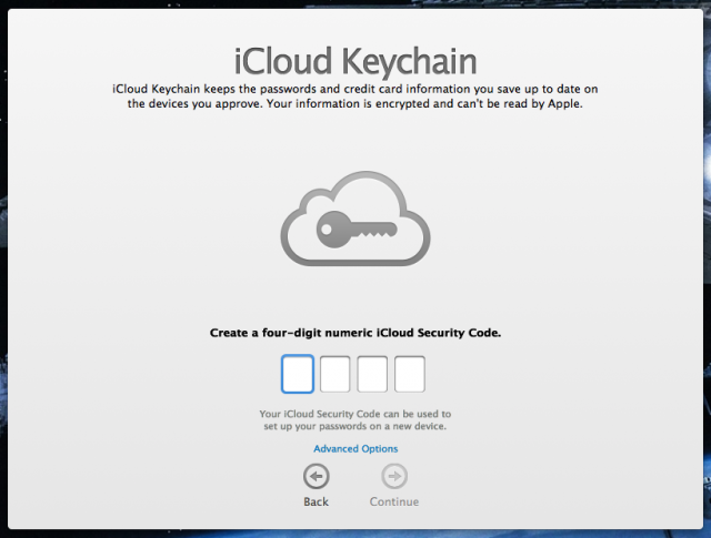 Enlarge. You can also set up iCloud Keychain ... d468e2272f9b