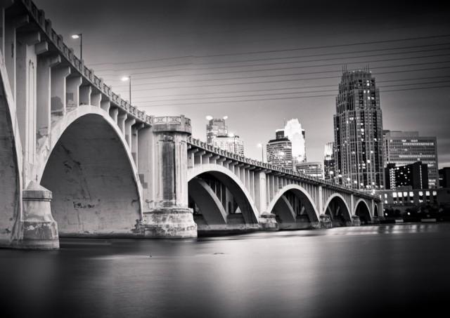 Minneapolis, Under the Third Ave. Bridge