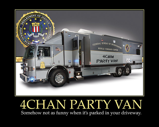 "The real ""party van."""
