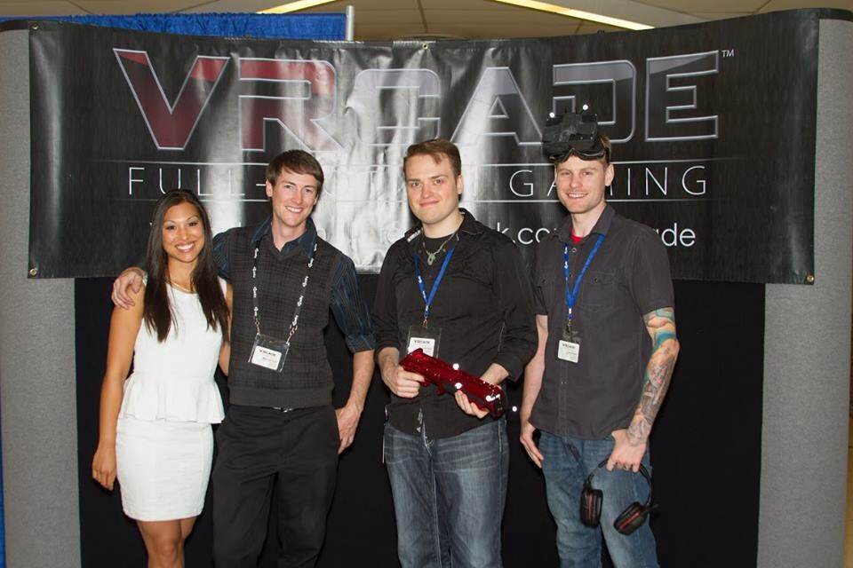 From left to right: Kristina Ponischil, Mark Haverstock, Jamie Kelly, Dave Ruddell.