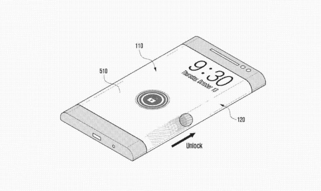 Samsung patent filing envisions wraparound smartphone screen of the future