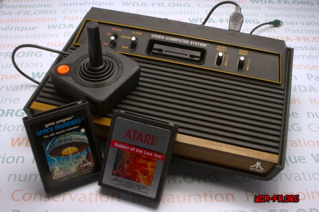 The venerable Atari 2600.