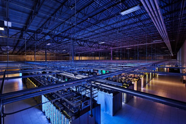 One of Google's humongous datacenters.