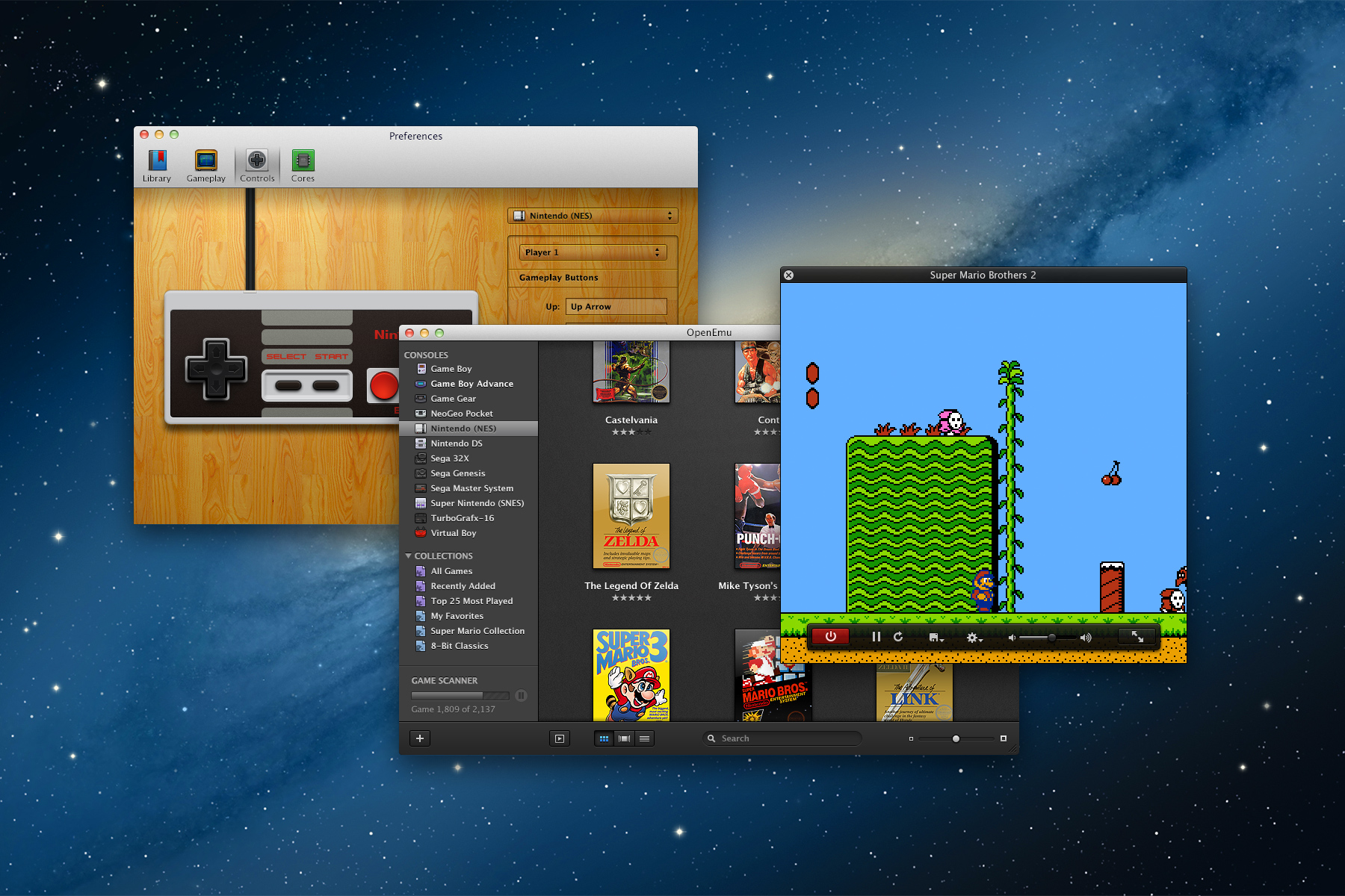 Hands on with openemu 1 0 a gorgeous classic console emulator for os x ars technica - Retro game emulator console ...