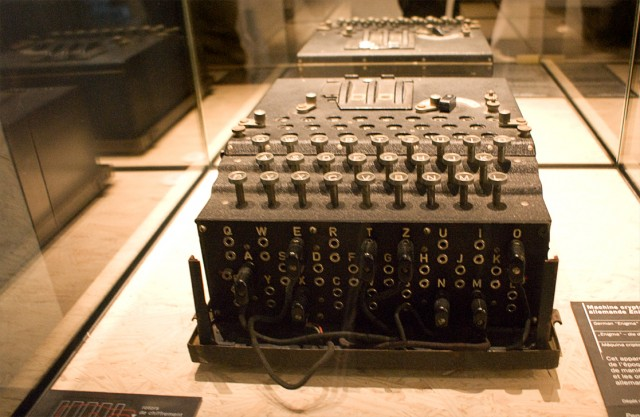 Encryption technology has come a long way since the Enigma machine.