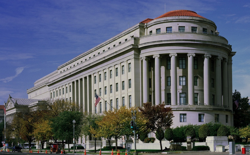 Federal Trade Commission headquarters in Washington, DC. The FTC spent years chasing Wallace.
