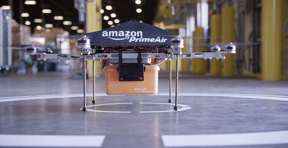 Amazon's delivery-drone