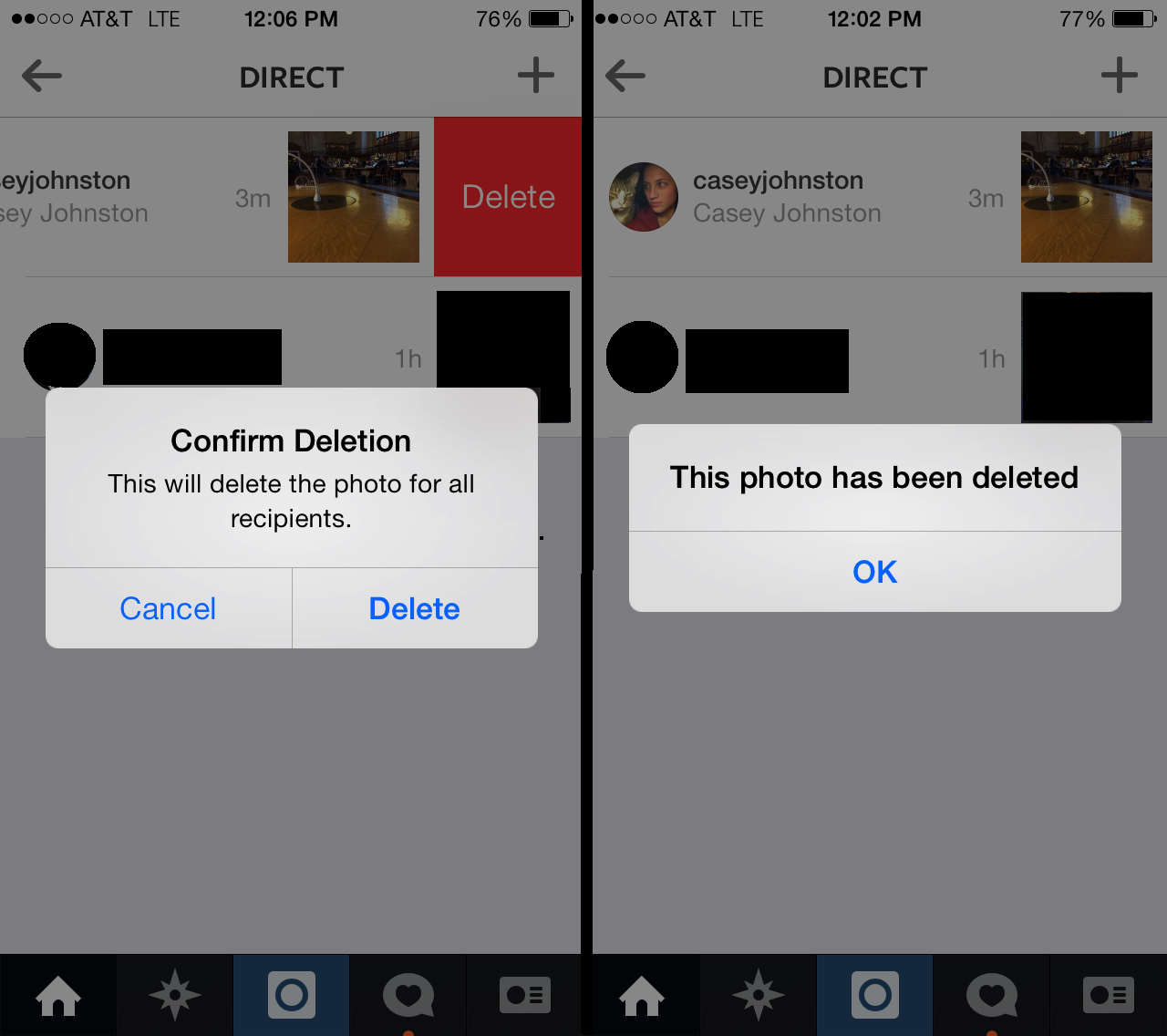 Instagram senders can delete their messages from ...