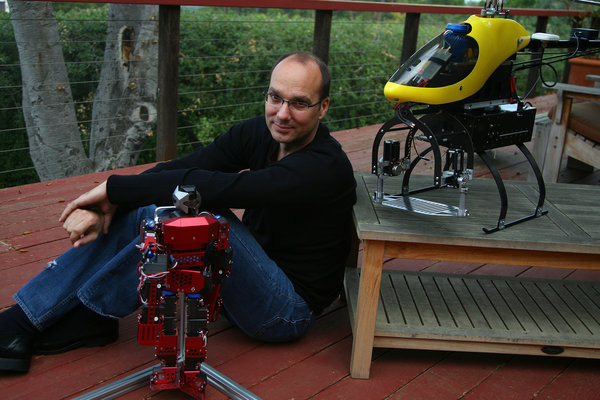 Google Robots! Former Android chief will lead Google robotics division