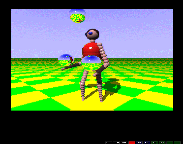 Sadly, this video of the ray-traced juggler seems to hang on my machine.