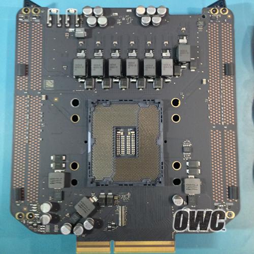 The new Mac Pro's CPU socket.