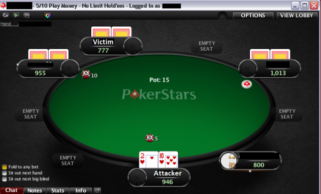 Card sharks infect professional poker player's laptop with a dirty RAT