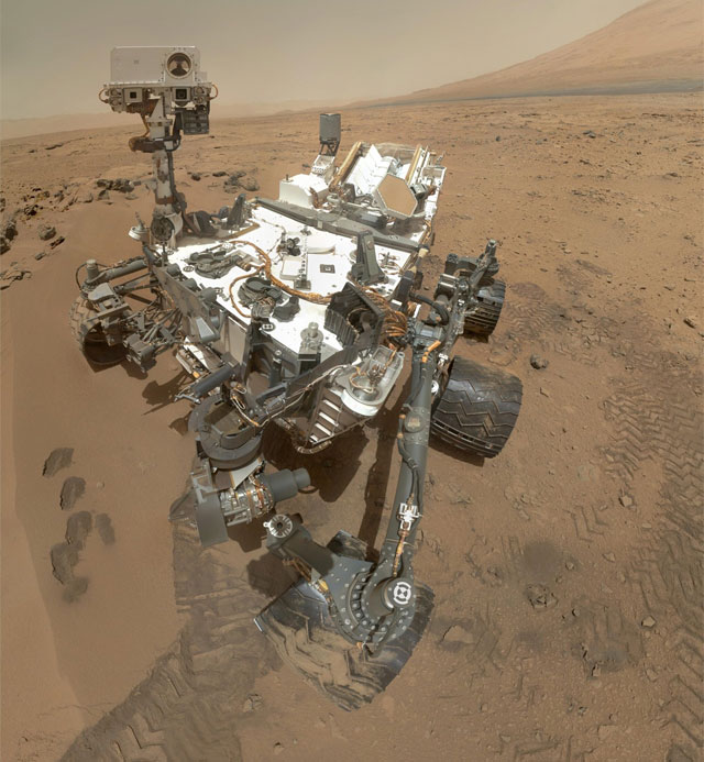 Curiosity finds evidence of ancient freshwater lake on Mars