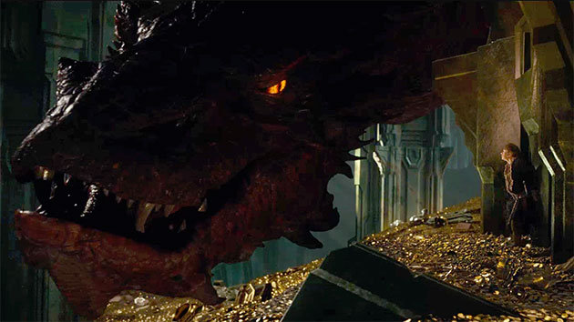 Smaug fittingly steals the show, owing both to the movie's visual effects team and Benedict Cumberbatch's performance.