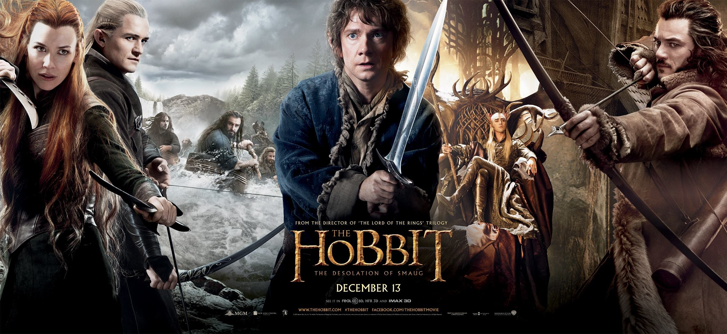 Enlarge / Peter Jackson's second The Hobbit ...