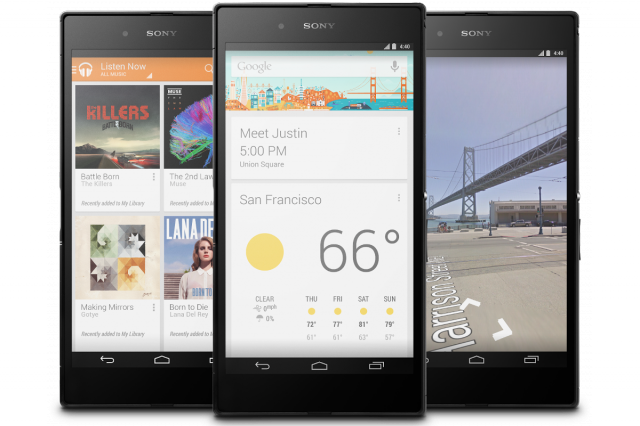 Google releases Sony Z Ultra Google Play Edition and white Nexus 7