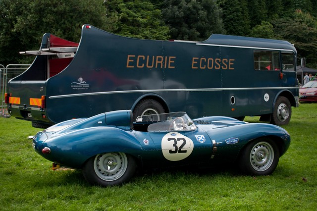 A Jaguar D-Type.
