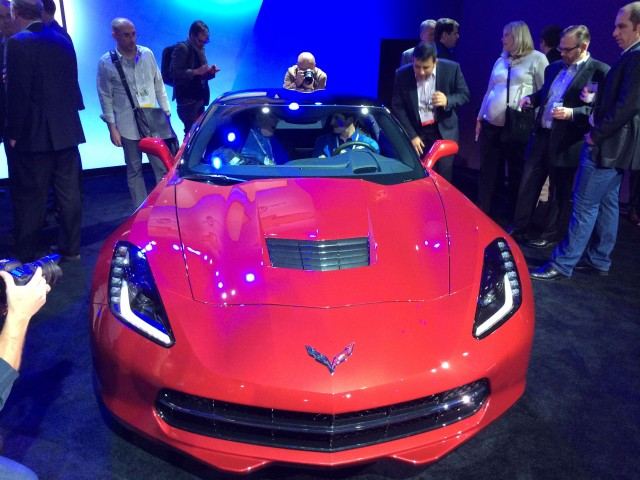 The 2015 Chevrolet Corvette: the fastest 4G hotspot on earth.